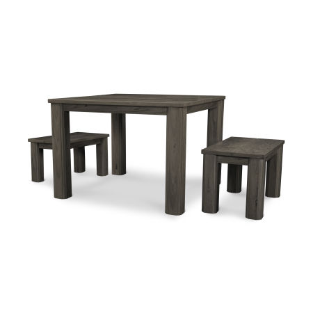 3 Piece Harvest Bench Set