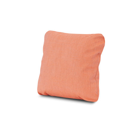 "18"" Outdoor Throw Pillow in Cast Coral"