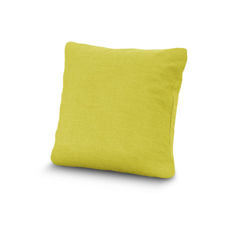 """20"""" Outdoor Throw Pillow by POLYWOOD® in Cast Citrus"""