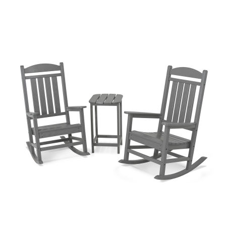 Presidential Rocking Chair 3-Piece Set