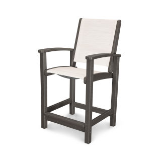 Coastal Counter Chair in Vintage Finish
