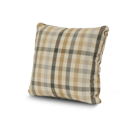 """20"""" Outdoor Throw Pillow by POLYWOOD® in Connect Dune"""