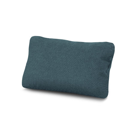 Outdoor Lumbar Pillow in Blend Lagoon