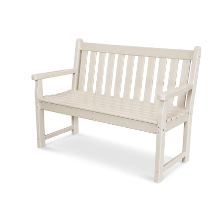 """Traditional Garden 48"""" Bench in Sand"""