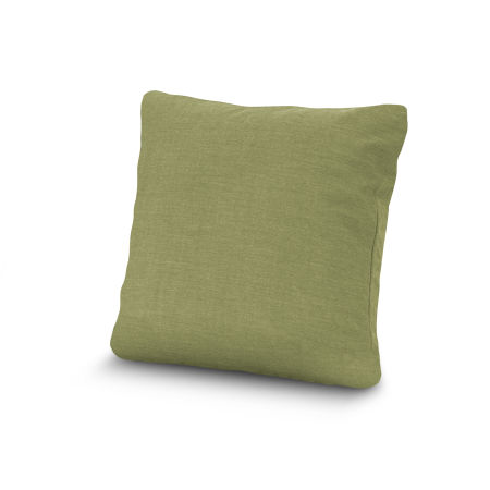 """20"""" Outdoor Throw Pillow by POLYWOOD® in Cast Moss"""
