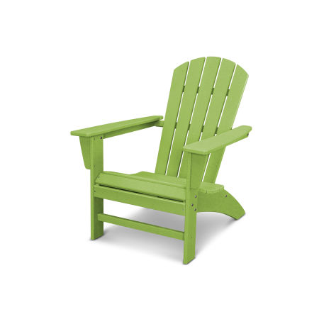 Nautical Adirondack Chair in Vintage Lime