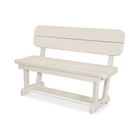 """Park 48"""" Bench in Sand"""