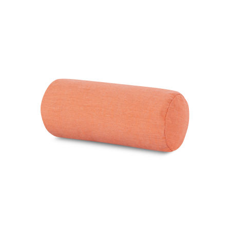 Outdoor Bolster Pillow in Cast Coral