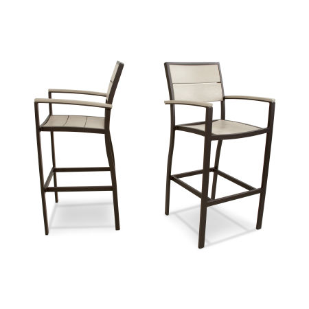 Surf City 2-Piece Bar Chair Set