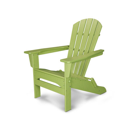 Palm Coast Folding Adirondack in Lime
