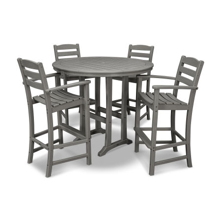 La Casa Café 5 Piece Bar Dining Set