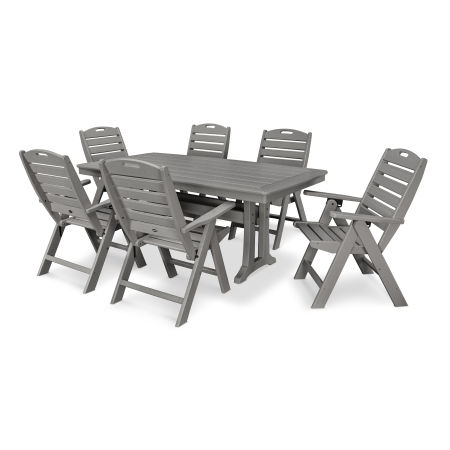 7 Piece Nautical Dining Set