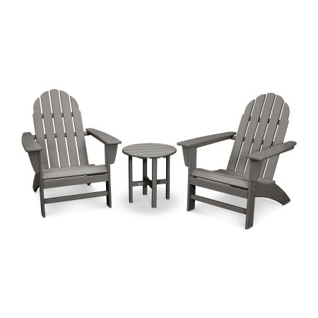 Vineyard 3-Piece Adirondack Set