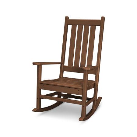 Vineyard Porch Rocking Chair in Teak