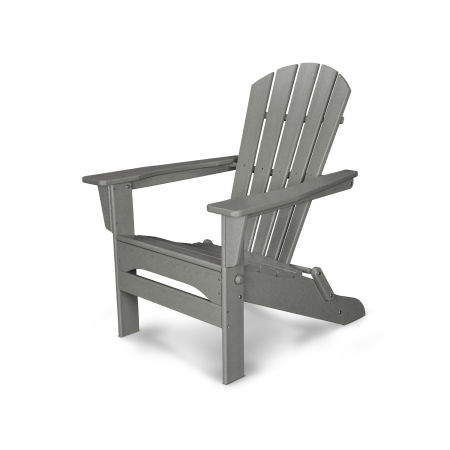 Palm Coast Folding Adirondack in Slate Grey