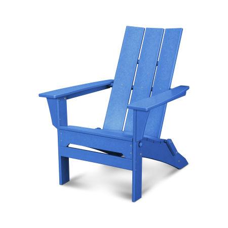 Modern Folding Adirondack in Pacific Blue