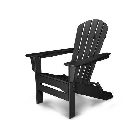 Palm Coast Folding Adirondack in Black
