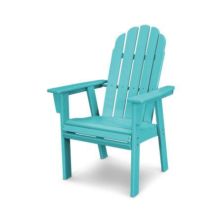 Vineyard Adirondack Dining Chair in Aruba