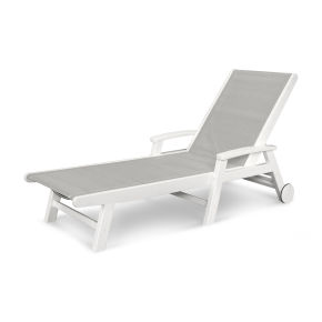 Coastal Wheel Chaise