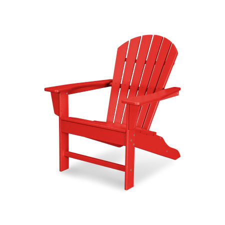 South Beach Adirondack in Sunset Red