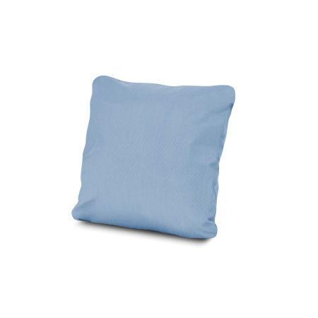 "18"" Outdoor Throw Pillow in Air Blue"