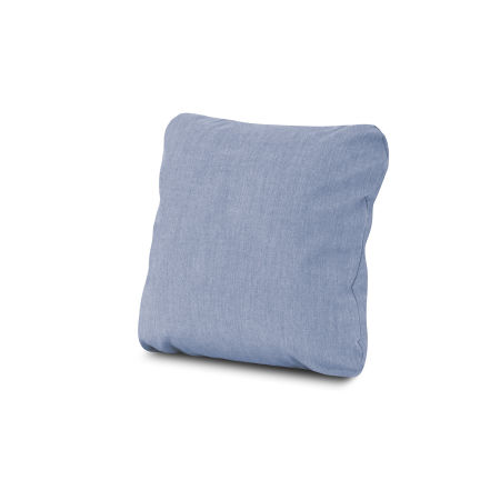 "18"" Outdoor Throw Pillow in Cast Ocean"