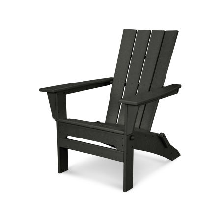Quattro Folding Adirondack in Black