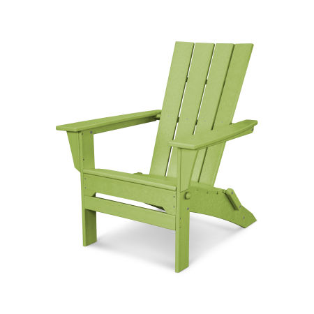 Quattro Folding Adirondack in Lime