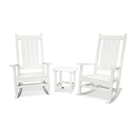 Outdoor Rocking Chair Sets Polywood 174 Polywood