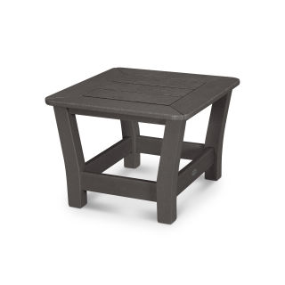 Harbour Slat End Table in Vintage Finish