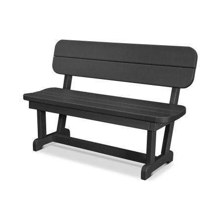 """Park 48"""" Bench in Black"""
