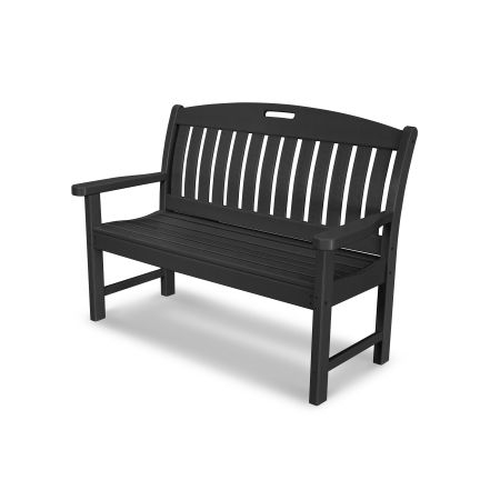 """Nautical 48"""" Bench in Black"""