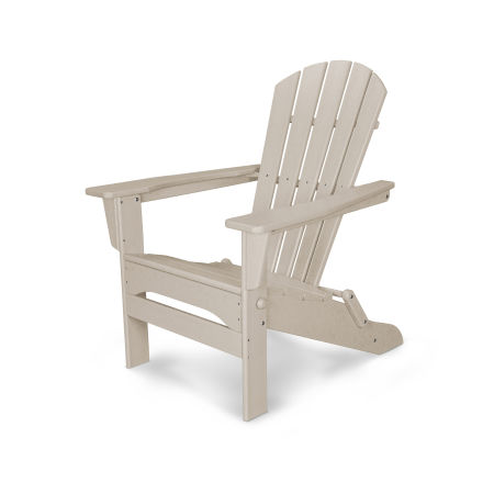 Palm Coast Folding Adirondack in Sand