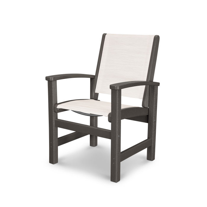 Excellent Polywood Coastal Dining Chair In Vintage Finish 9010V Dailytribune Chair Design For Home Dailytribuneorg