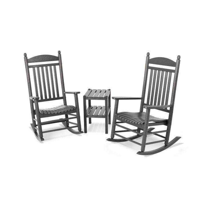 Jefferson 3 Piece Rocking Chair Set