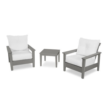 Prescott 3-Piece Deep Seating Set