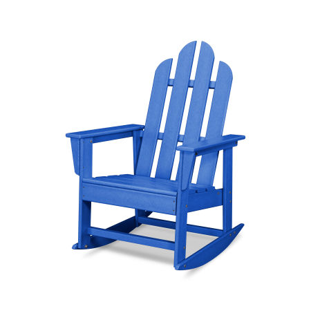 Long Island Rocking Chair in Pacific Blue