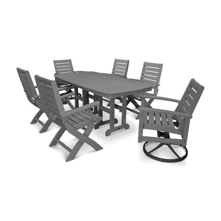 Signature 7-Piece Swivel Dining Set