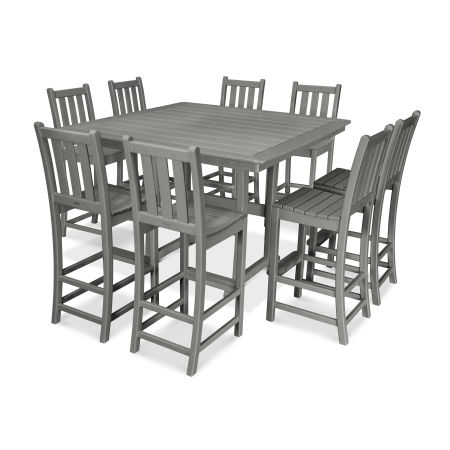 9-Piece Nautical Trestle Bar Set