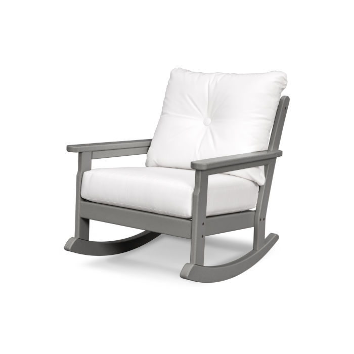Magnificent Polywood Vineyard Deep Seating Rocking Chair Gnr23 Caraccident5 Cool Chair Designs And Ideas Caraccident5Info