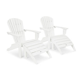 Seashell Adirondack Set