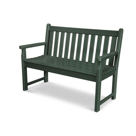 "Traditional Garden 48"" Bench in Green"