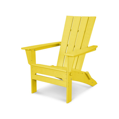 Quattro Folding Adirondack in Lemon