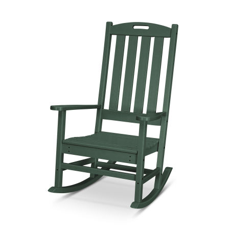Nautical Porch Rocking Chair in Green