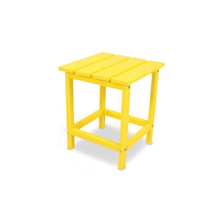 """Long Island 18"""" Side Table in Lemon"""