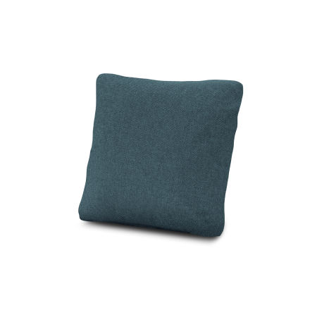 "18"" Outdoor Throw Pillow in Blend Lagoon"