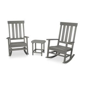 Prescott 3-Piece Porch Rocking Chair Set