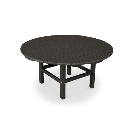 "Round 38"" Conversation Table in Vintage Finish"