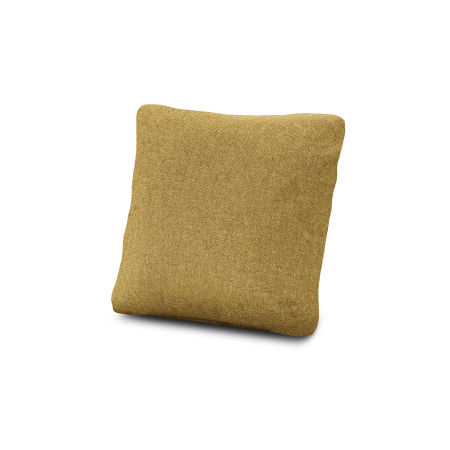 "18"" Outdoor Throw Pillow in Blend Honey"