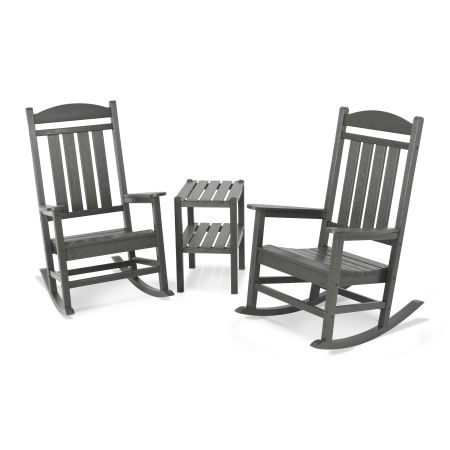 Presidential 3-Piece Rocking Chair Set
